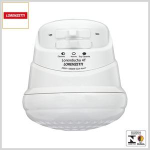 Ducha Elétrica 4Temp LorenDucha (Branco)