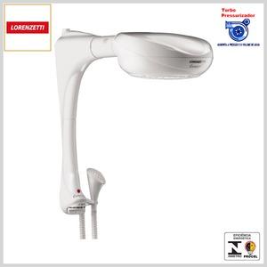 Ducha Elétrica Multitemp Evolution Turbo c/Pressurizador (Branco)